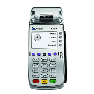 VeriFone Vx 520 Dial and Internet Terminal with EMV and Contactless